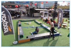 2021 opblaasbare Football-stijl Billiard-Table Toys Arcade Speelautomaat