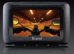 """Водонепроницаемый мотоцикл запись с камеры с разрешением 1080P с двумя объективами Dash Cam DVR заднего вида при движении видео рекордера с WiFi и GPS 2,7"""" ЖК-дисплей"""