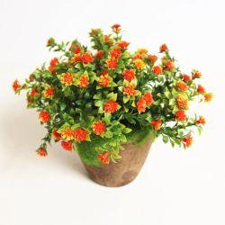 Plantas artificiais de plástico de moda de flores artificiais Bonsai