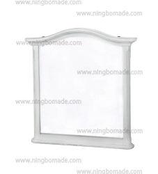 [نورديك] [لوويس] أسلوب منزل أثاث لازم [لوويس] بيضاء [سليد ووود] مرآة