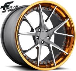 Custom Дизайн 17-дюймовые Алюминиевые ободы колес на автомобиле
