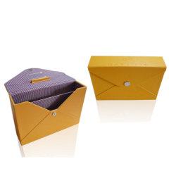 カスタムレザーストレージファイルレターホルダーボックス( 4427 )