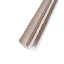 백색 PVC 천장 클래딩 구석 내부 손질