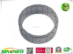 "N42sh Arc неодимовый магнит Od1.5""Xid1,25""X0.75""Lx45 градусов ID S полюс"