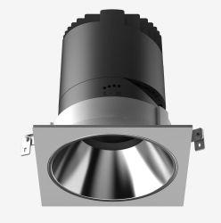 5W 9W 20W 30W 2*12W quadratische Oberfläche hing vertiefte LED Downlight ein, das Innen-LED unten beleuchtet