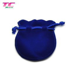 À la mode Bijoux de velours chaîne personnalisée Sac Gourd forme pochette d'emballage cadeau velours de sacs