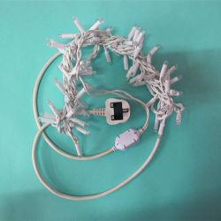 Fil en caoutchouc étanche IP65 Micro Chaîne de fil de cuivre de feux à LED