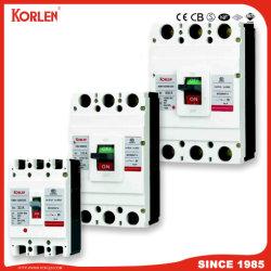 Disjoncteur boîtier moulé MCCB avec la CE (KNM CB1 3P/4P) 32A~800A 3p