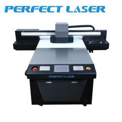 Acrílico vidrio Metal madera Caja de teléfono de la impresora plana UV