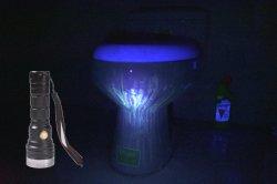 Новая модель найти пятно помочь облегчает очистку проведение черный лампа высокой мощности 365 нм фонарик