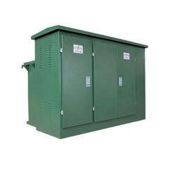 La caja exterior de tipo prefabricado combinada de energía eléctrica subestación subestación caja de diseño