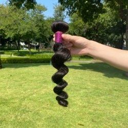 처리되지 않는 Virgin Malaysian 머리, 100명의 인간 Malaysian 표피에 의하여 맞추어지는 Virgin 머리 두바이 의 밍크 깊은 파 Malaysian