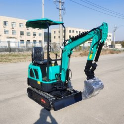 La Chine prix bon marché de nouveaux 1 tonne plus petit Mini-excavatrice à chenilles de la construction Digger accessoires de machine pour la vente de pièces