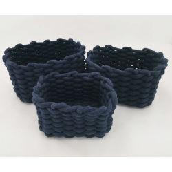 작은 옥외 Foldable 쌓을수 있는 서랍 Organiser 상자 포장 저장 부대는 직물 부엌 Rags를 상자에 넣는다