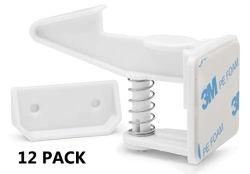 Armario de seguridad bebé 12pzas bloquea / armarios y cajones de corrección de los bloqueos