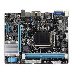 2018 SATA 2.0 Intel H61 8GB DDR3 Placa Principal