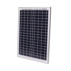 20W Tamanho Pequeno Painel Solar Policristalino