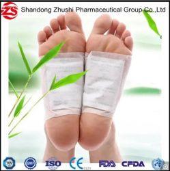 Detox pied Patch correctifs des plaquettes de bambou avec adhésif Améliorer le sommeil beauté Slimming Private Label