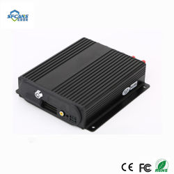 4CH 1080P Mobile coche DVR 2 Ranuras para tarjetas SD Mdvr para vigilancia de vehículos