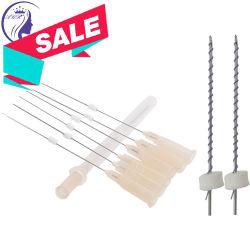 Silhouette de suture Monofilament Polydioxanone Face AOP Thread avec l'aiguille de levage