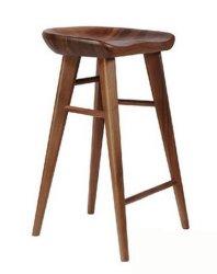 Banqueta Bar cadeira com forte Madeira (M-X3106)
