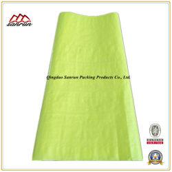 Желтые пластиковые PP тканый мешок для упаковки