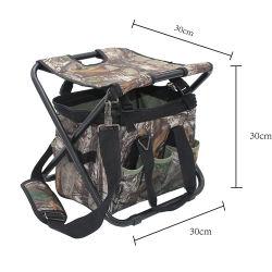 حقيبة صيد 12 بوصة بوليستر مع أكياس أدوات المقعد