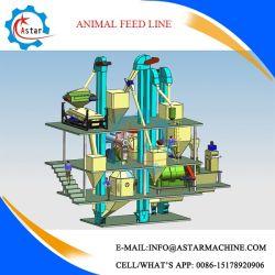 L'élevage de bovins de la Volaille Poulet terminer l'alimentation animale Pellet rendant la production pour la vente de ligne