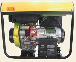 5KW 5kVA 5000watt 5 quilowatts 6500 arrefecido a ar 10 HP a diesel do gerador de CA para o backup inicial