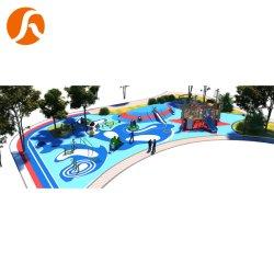 Ce стандартные пользовательские размеры игровая площадка с деревянными игровая площадка и оборудование для фитнеса