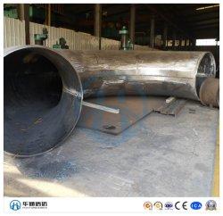 5D 3D Bw ASTM A234 Wpb ANSI B16.49 piegatura Tubo in fabbrica