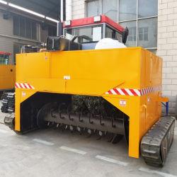 Turner el abono de piezas de maquinaria agrícola maquinaria de la máquina de compostaje de residuos de alimentos eliminador