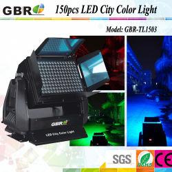 Светодиодный цвет города 150*3W 3В1 или RGB для использования вне помещений на стену