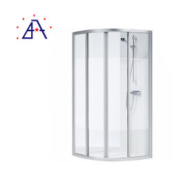 유럽식 주문을 받아서 만들어진 크기에 의하여 양극 처리되는 알루미늄 샤워실