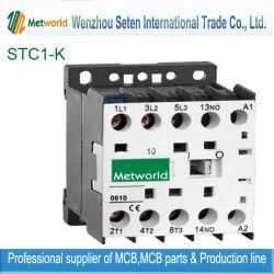 Contacteur mini AC Contacteur magnétique de contacteur du contacteur de relais du contacteur DC