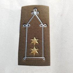 Personalizada de Fábrica Epaulet Exército Militar Acessórios uniforme