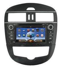 مشغل دي في دي للسيارة لنيسيان تييدا مع Pure Android 4.2 نظام الملاحة GPS الخاص بنظام التشغيل