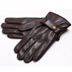 Homens Moda quente de inverno esportes de condução de motociclos de luvas de couro (YKY5195)