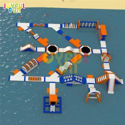Diversão jubilosa nova 2021 Piscina Adulto Grande Kids Brinquedos de Água do Mar de Diversões Flutuante Jogos Aqua Park Parque Aquático inflável