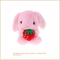Konijn van het Speelgoed van de Pluche van het konijntje vulde het Zachte de Dierlijke Gift van de Jonge geitjes van de Baby