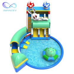 Thème de lapin durables flottant piscine gonflable Kids Water Park de diapositives pour la vente
