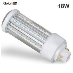 セリウムの良質の低価格LED PLC軽いG24D G24qのG24 LEDのプラグランプ