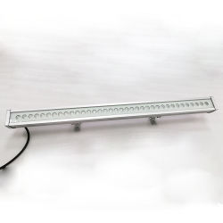 RoHS CE - индивидуальный дизайн экстерьер IP67 - ландшафтный проект наружное здание Светильники асимметричная настенная светодиодная шайба DMX512 Control RGBW Светлый