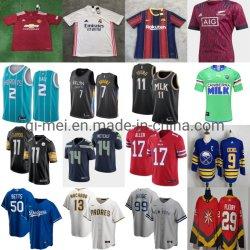 Venda por grosso de 2021 nova temporada de hóquei de beisebol futebol basquetebol Rugby camisolas de futebol
