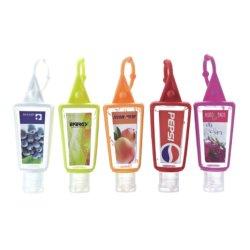 30ml Hand Sanitizer Gel avec support de silicium de 62 % d'alcool approuvée par la FDA.