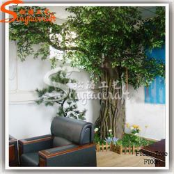 Ficus Home decorazione artificiale Ficus pianta