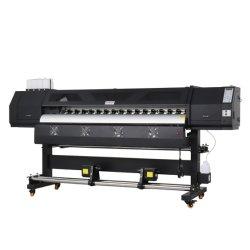 2 têtes impresora de traceur Solvente 1,6 M$ 1,8 m