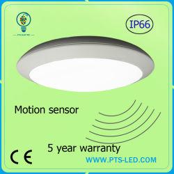 Чрезвычайной 20W 30W 40W радар Микроволновой датчик движения IP65 Круглые светодиодные потолочные лампы