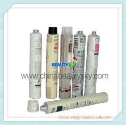De kosmetische Buis van de Room van de Hand van de Kleur van het Haar van de Zorg van de Huid van het Aluminium van de Verpakking Lege Opvouwbare