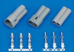 Qh (5,0 mm), la presión de la barra de soldar el conector del cable